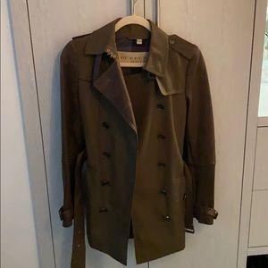 Burberry Brit Lamb Leather Jacket